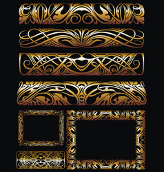 dorders and frames vector image