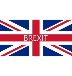 Great Britain referendum on secession from vector image