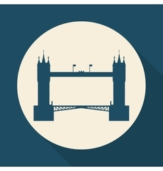 London icon design vector image