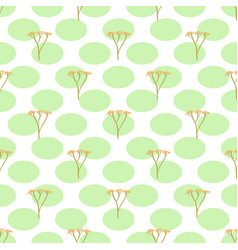 stalks seamless pattern vector image