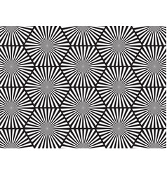 black and white abstract line background vector image vector image