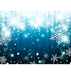 Christmas Winter Holiday vector image vector image