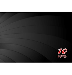 Abstract black waves background vector