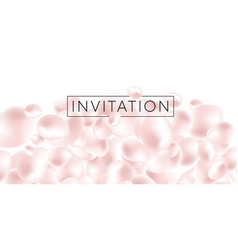 abstract liquid element in delicate pearl color vector image