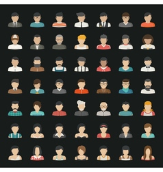 Business icons and people icons eps10 for vector