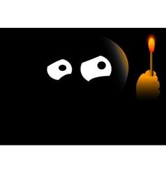 Darkness vector image