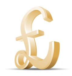 pound vector image