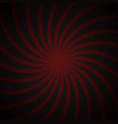 red and black spiral vintage vector image vector image