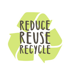 Reduce reuse recycle vector