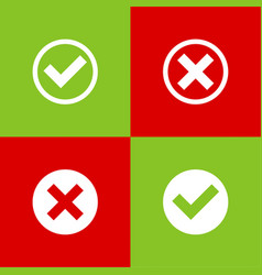 set buttons vector image