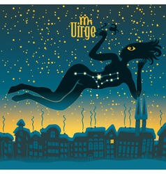 Virgo sign vector image vector image