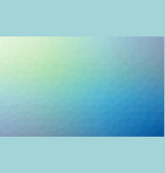 Abstract blue colorful lowploly of many triangles vector