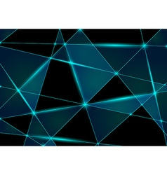 Abstract Triangle Mesh vector image