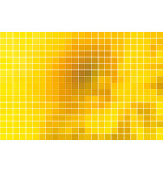bright golden yellow square mosaic background vector image