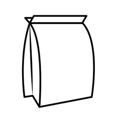 Food bag for pets vector