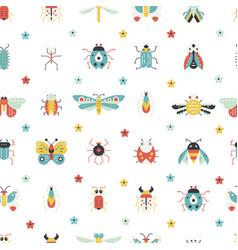 Geometrical bugs vector