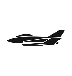 Isolated object aeroplane and commercial symbol vector