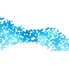 Abstract triangles creative backgorund Triangles vector image vector image