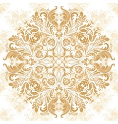 pattern in vintage style vector image