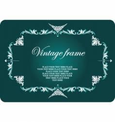 vintage style frame vector image