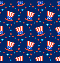 Independence day of america festive pattern vector