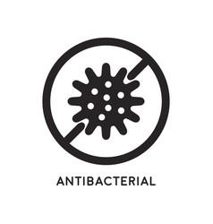 antibacterial and antiviral defense vector image