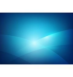 Blue abstract background lighting curve and layer vector image