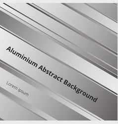 details of abstract pattern metal aluminum vector image