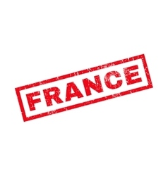 France Rubber Stamp vector
