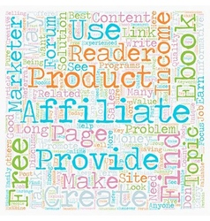 How Free eBooks can Explode your Affiliate Income vector image
