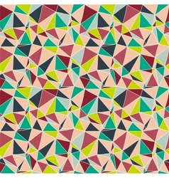 Origami seamless abstract background vector image