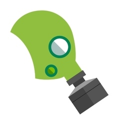 Respiratory protection mask vector