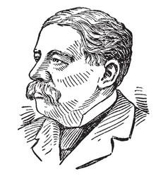 Richard olney vintage vector