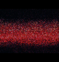 square pixel mosaic vector image