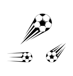 Football logo for the team and the cup vector image vector image