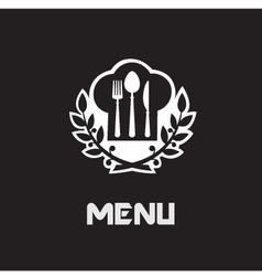 restaurant menu banner vector image vector image