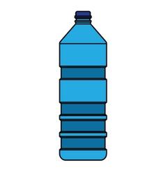 blue bottle vector image