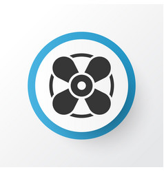 fan icon symbol premium quality isolated vector image
