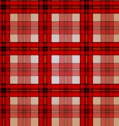 Festive red checkered seamless pattern vector