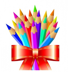 pencil cluster vector image