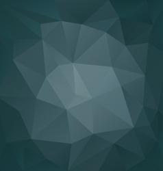 petrol dark blue triangular pattern background vector image
