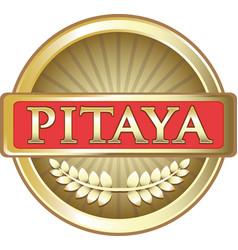 pitaya gold icon vector image