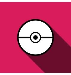 Pokeball icon isolated vector image