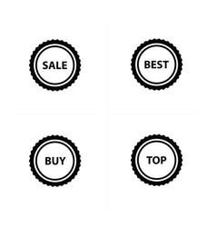 Price set icon design vector