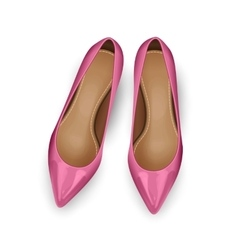 Shoes Top View vector