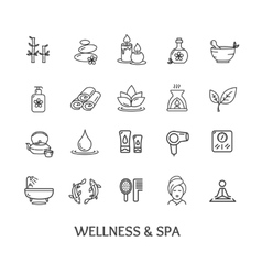 Spa Icon Set vector