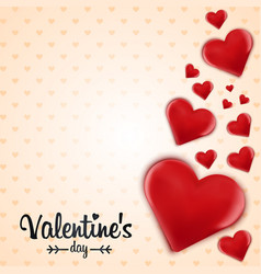 Valentine abstract background vector