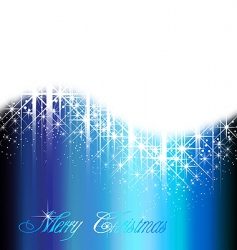 shiny blue background vector image