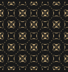 gold and black background abstract geometric grid vector image