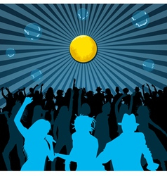 Disco Backgrounds vector image vector image